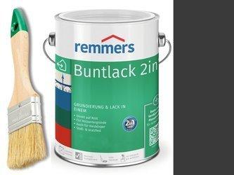 Farba renowacyjna grzejnik Remmers CZARNA 0,375L