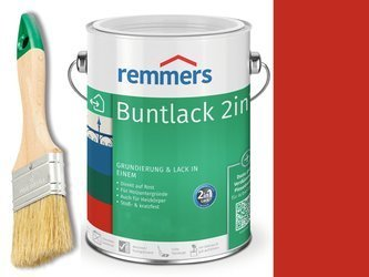 Farba renowacyjna grzejnik Remmers CZERWONA 0,375
