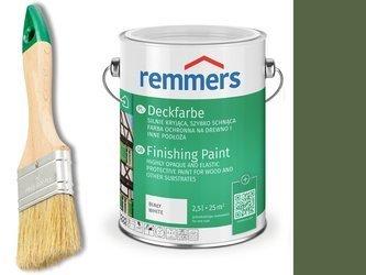 Remmers Farba do drzwi mebli ZIELEŃ MCHU 2,5 L