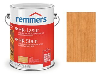 Remmers HK-Lasur impregnat do drewna 2,5 L MODRZEW
