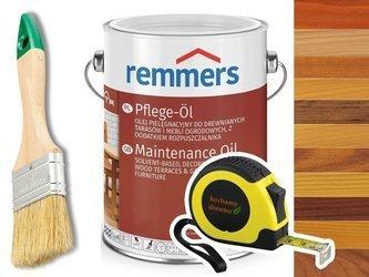 Remmers Pflege-Ol olej do drewna tarasu KOLORY 20L