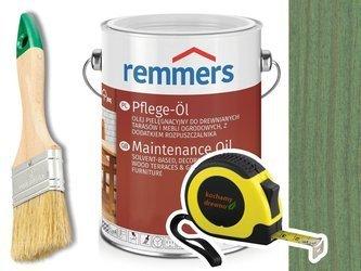Remmers Pflege-Ol olej do drewna tarasu ZIELONY 5L