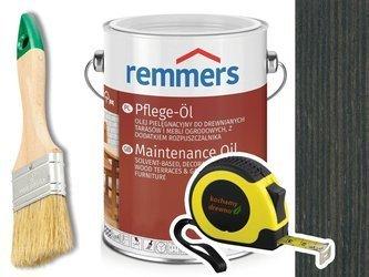 Remmers Pflege-Ol olej do tarasu ANTRACYT 2,5L