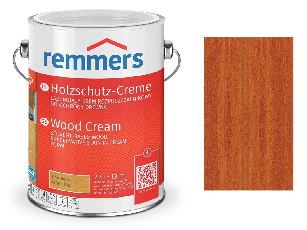 Krem Holzschutz-Creme Remmers Mahoń 2720 - 5L