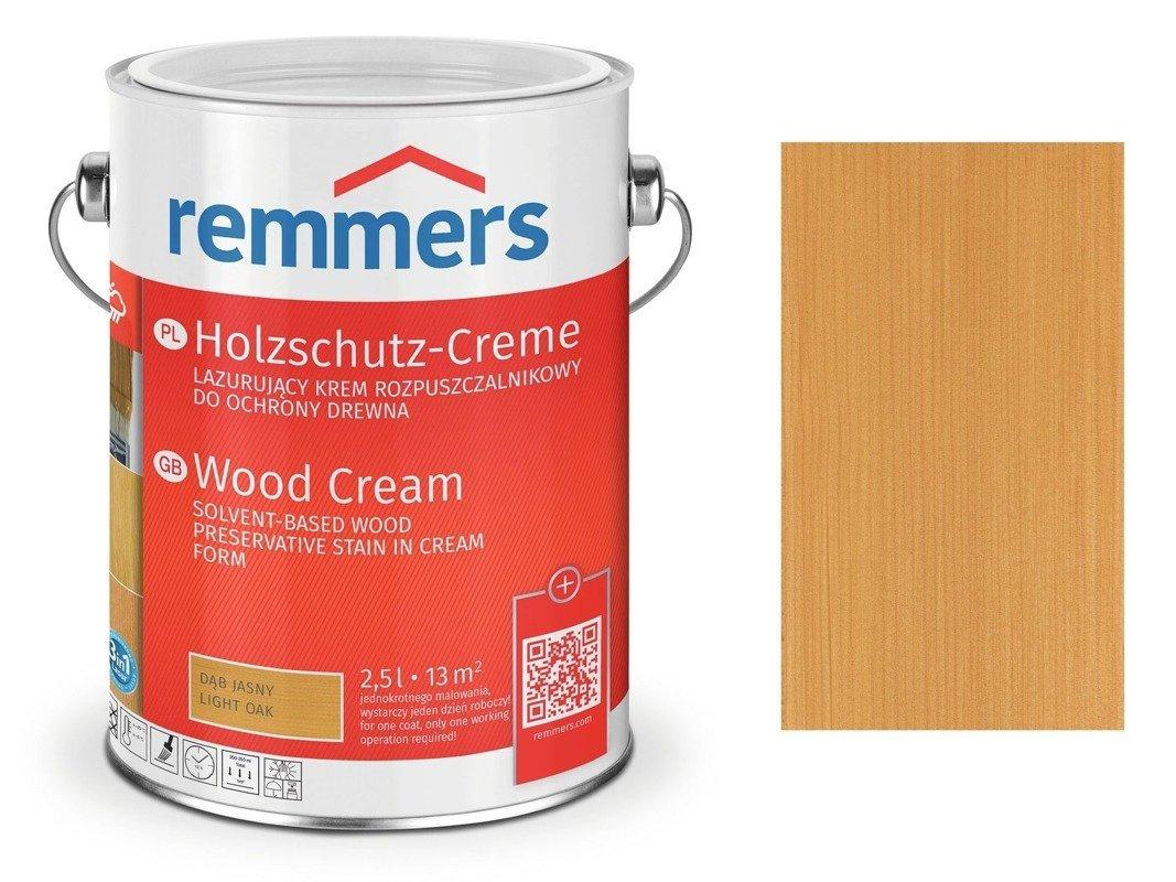 Krem Holzschutz-Creme Remmers dąb jasny 2715 5 L