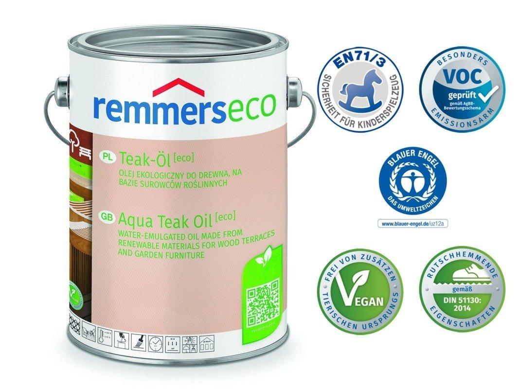 Olej do drewna Remmers 0,75 L EKOLOGICZNY Modrzew