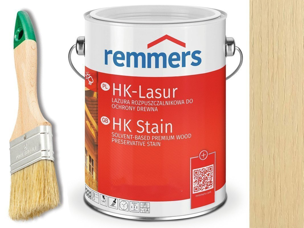 Remmers HK-Lasur impregnat do drewna 20L PIASEK