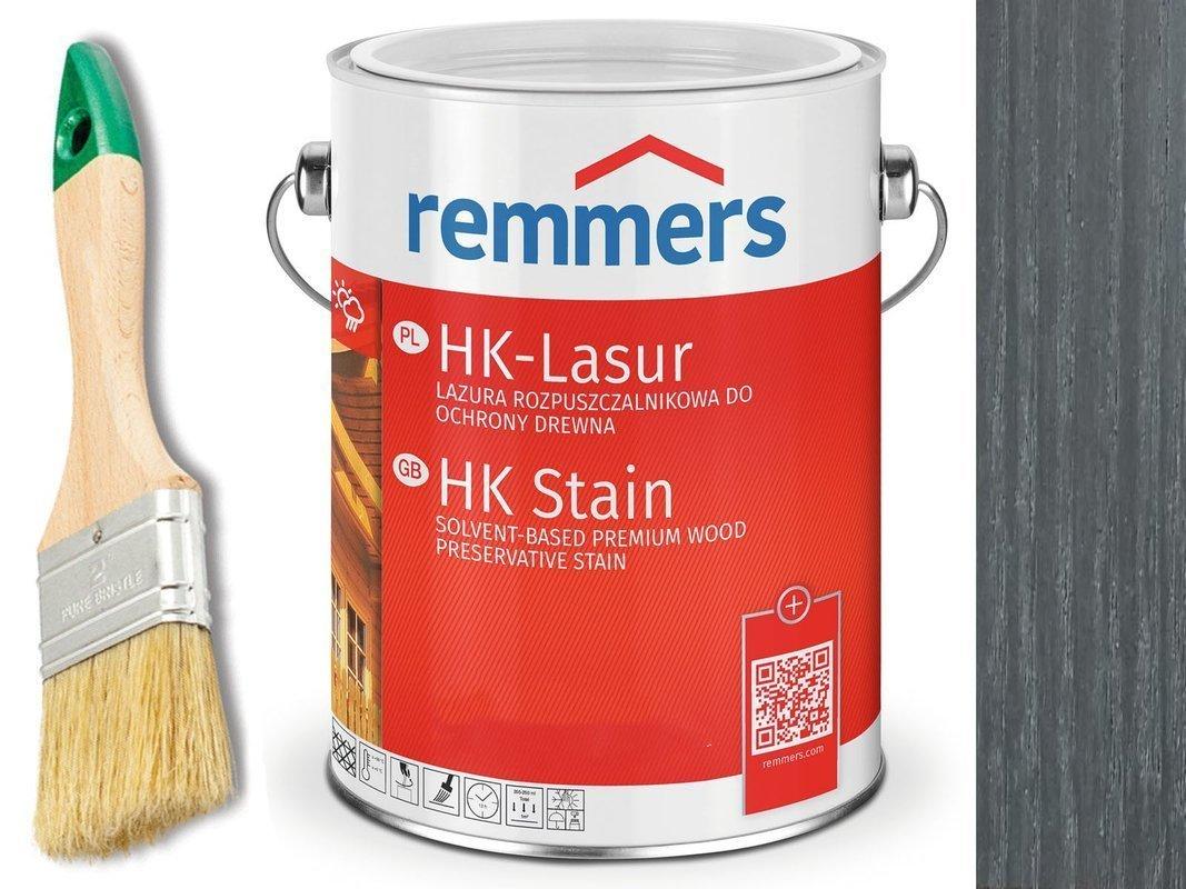 Remmers HK-Lasur impregnat do drewna 5L GRAFIT
