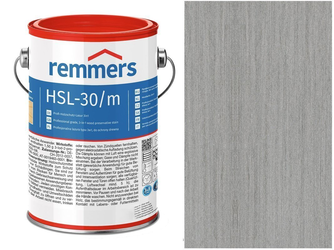 Remmers HSL-30 Profi HK-Lasur Platynowy 2,5L