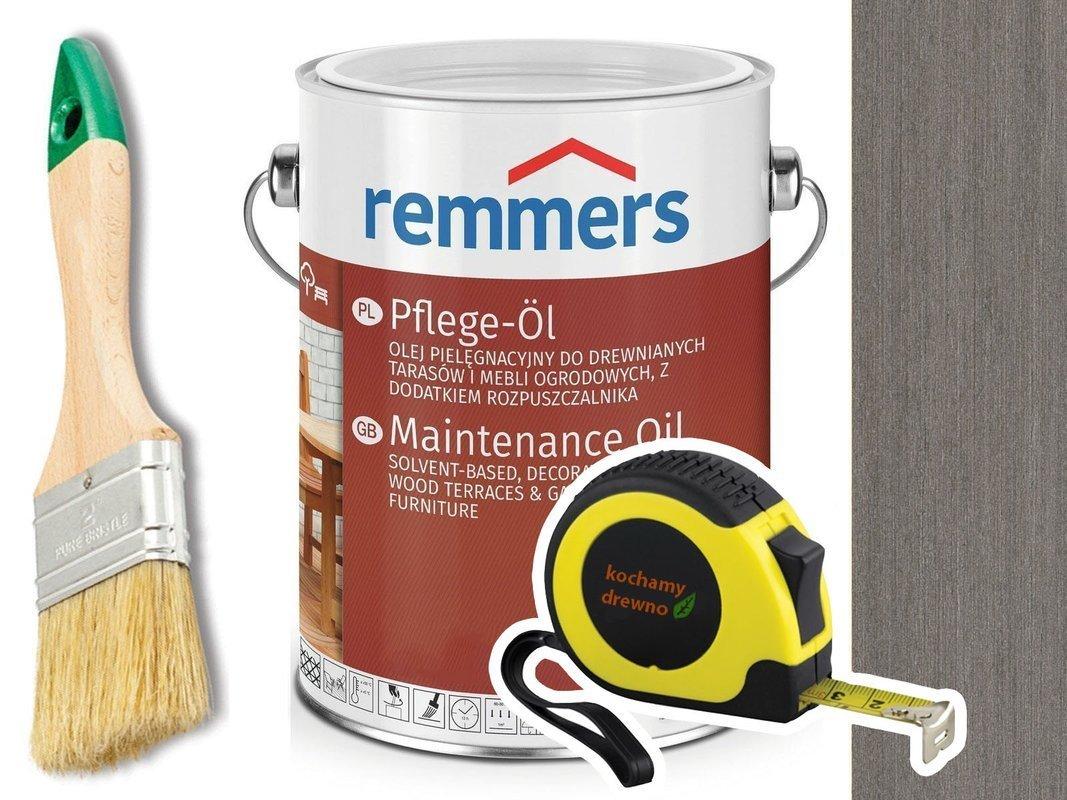 Remmers Pflege-Ol olej do tarasu GRAFITOWY 2,5L
