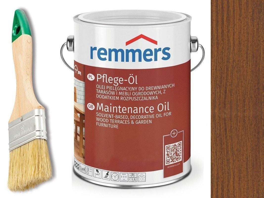 Remmers Pflege-Ol olej do tarasu ORZECH 0,75L
